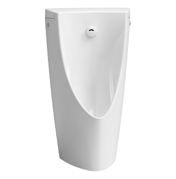 Wall hung Urinal with Built-In Sensor